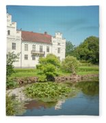 Wanas Castle Duck Pond Fleece Blanket