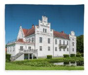 Wanas Castle Front Fleece Blanket
