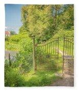 Wanas Castle Secret Gate Fleece Blanket