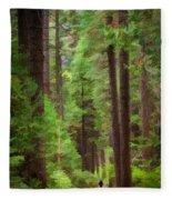 Wandering Fleece Blanket