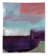 Wanderlust 22- Art By Linda Woods Fleece Blanket