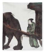 Wang Zhaojun Fleece Blanket