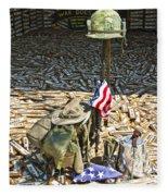 War Dogs Sacrifice Fleece Blanket