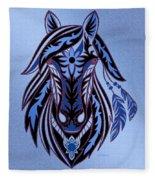 War Horse 3 Fleece Blanket