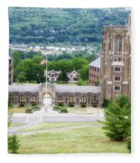 War Memorial Lyon Hall Cornell University Ithaca New York 01 Fleece Blanket