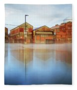 Warehouses Fleece Blanket