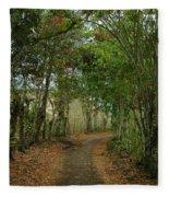 Wariman Pathway Fleece Blanket