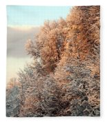 Warm Light Snow Fleece Blanket