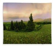 Warm The Soul Panorama Fleece Blanket