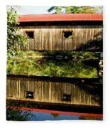 Warner Covered Bridge Fleece Blanket