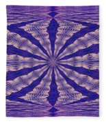 Warped Minds Eye Fleece Blanket