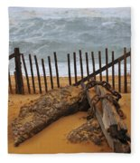 Washed Ashore Fleece Blanket