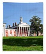 Washington And Lee Fleece Blanket