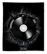 Washington Dc Skyline Vinyl 10 Fleece Blanket
