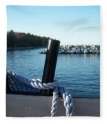 Washington Island 1 Fleece Blanket