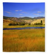 Washington Landscape Fleece Blanket