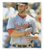 Washington Nationals Bryce Harper Fleece Blanket