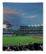 Washington Nationals In Our Nations Capitol Fleece Blanket
