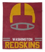 Washington Redskins Vintage Art Fleece Blanket