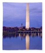 Washington Refelection Fleece Blanket