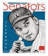 Washington Senatore 1960 Yearbook Fleece Blanket