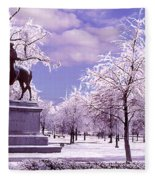 Washington Square Park Fleece Blanket