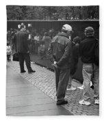 Washington Street Photography 1 Fleece Blanket