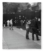 Washington Street Photography 2 Fleece Blanket