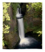 Washington Waterfall Fleece Blanket