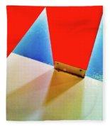 Washroom Indoor Structure Architecture Abstract Fleece Blanket
