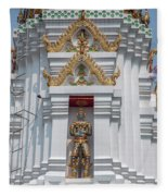 Wat Apson Sawan Phra Chedi Guardian Giant Dthb1922 Fleece Blanket