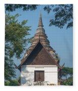 Wat Jed Yod Phra Ubosot Dthcm0967 Fleece Blanket