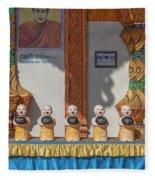 Wat Mae Faek Luang Phra Wihan Daily Merit Bowls Dthcm1879 Fleece Blanket