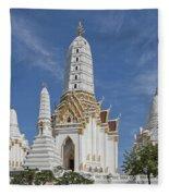 Wat Phitchaya Yatikaram Prangs Dthb1186 Fleece Blanket
