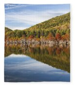 Watagua Lake, Tn Fleece Blanket