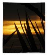 Watch More Sunsets Fleece Blanket