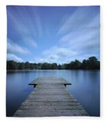 Watch The Day Go By Fleece Blanket