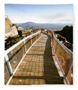 Watchtower Lookout, Ben Lomond, Tasmania Fleece Blanket