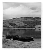 Watendlath Tarn In The Lake District Cumbria Fleece Blanket