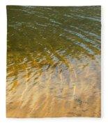 Water Abstract - 1 Fleece Blanket