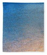 Water Abstract - 3 Fleece Blanket