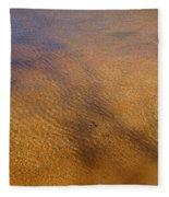 Water Abstract - 4 Fleece Blanket