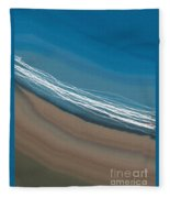 Water And Sand Fleece Blanket