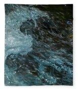 Water Art 11 Fleece Blanket