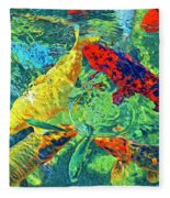Water Ballet Fleece Blanket
