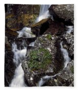 Water Cascading Fleece Blanket