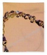 Water Chain IIi Fleece Blanket
