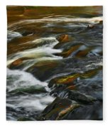 Water Colors Fleece Blanket