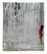 Water Dance Fleece Blanket