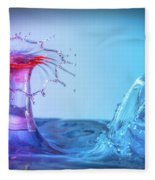 Water Drop 25 Fleece Blanket